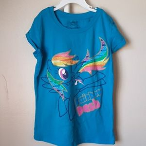 MY LITTLE PONY RAINBOW DASH TEE M(7-8)